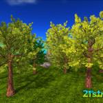 21strom-second-life-mesh-tree-akacia-ALL-green