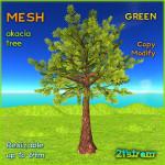 21strom-second-life-mesh-tree-akacia-GREEN