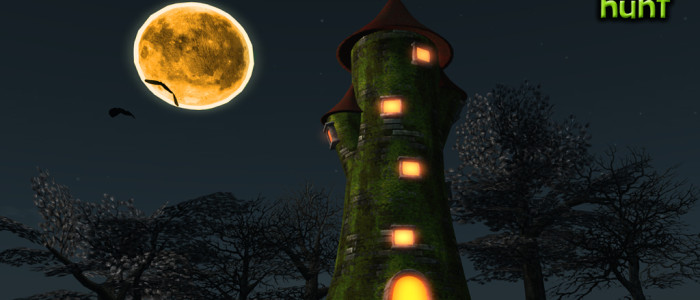 Under the pumpkin Moon