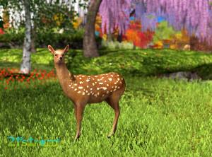 Mesh deer - free gift